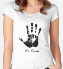 The Dark Hand Women's Fitted Scoop T-Shirt