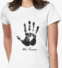 The Dark Hand Womens Fitted T-Shirt