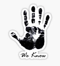 The Dark Hand Sticker
