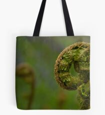 Finely Divided Tote Bag