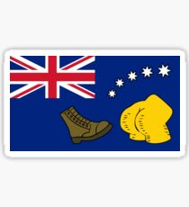 New Australia Flag Sticker