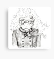 In the blustery weather Canvas Print