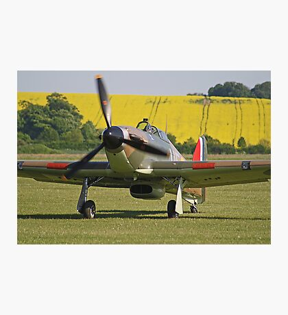 Paul Bonhomme In The Hurricane - Duxford 26.05.2013 Photographic Print