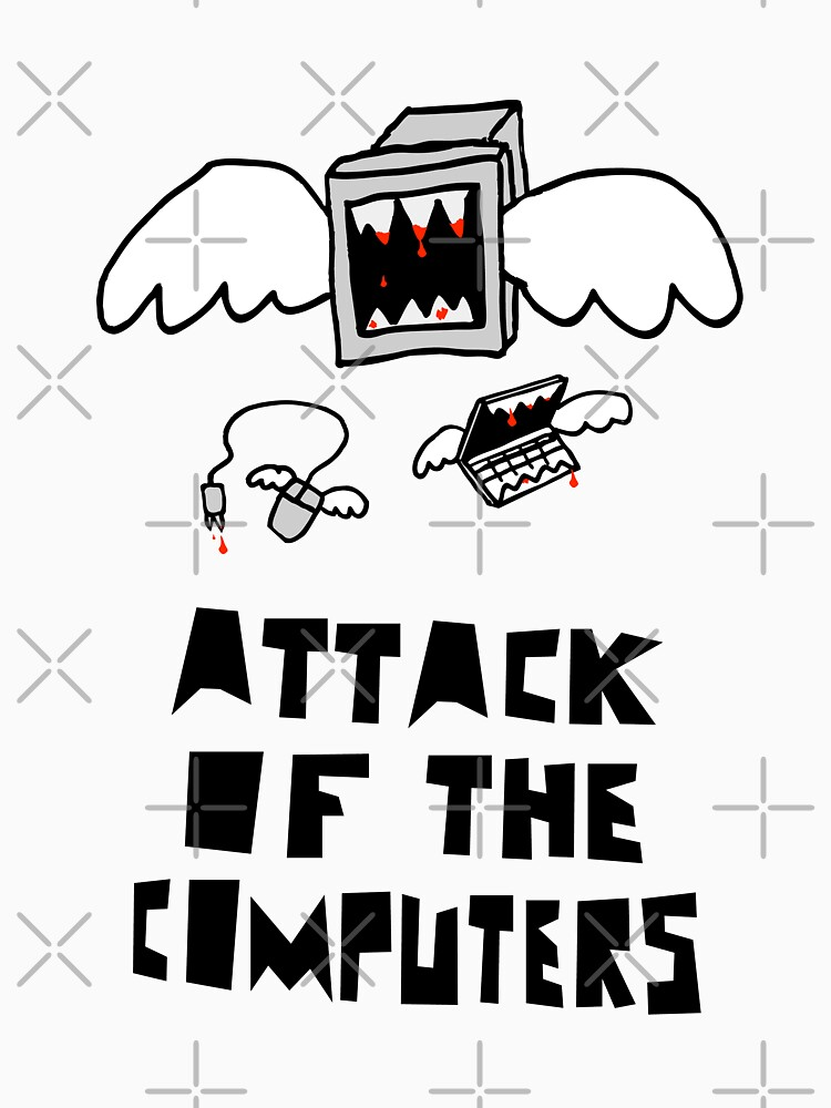 TShirtGifter presents: Attack of the Computers | Unisex T-Shirt