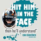 """Hit him in the face"" 