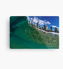 Swimmers Paradise Metal Print