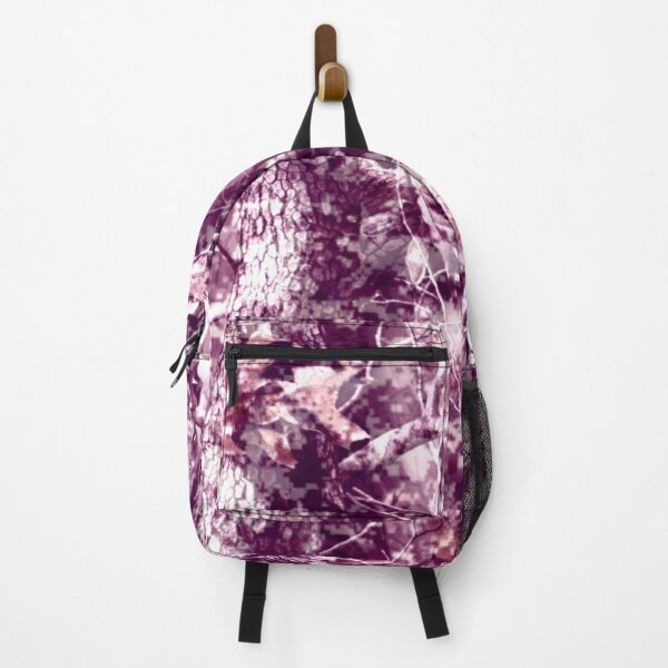 Pink Hunting Camo Backpack