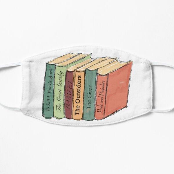 Literature Books Flat Mask