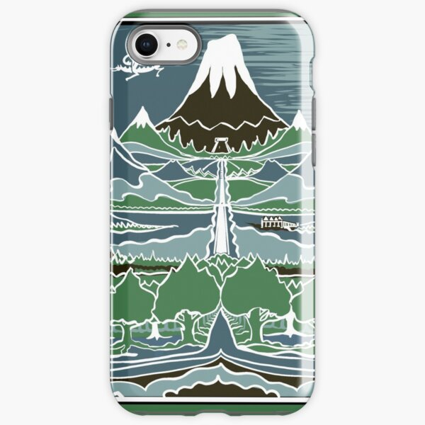Mountain Flatdesign: Tolkien IPhone Cases & Covers