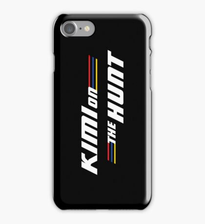 Kimi on the Hunt iPhone Case/Skin