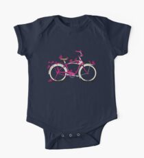 Butterfly Bicycle One Piece - Short Sleeve
