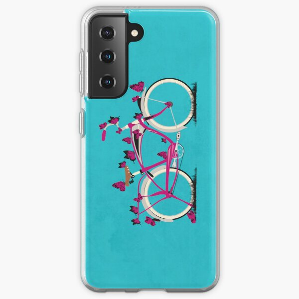 Butterfly Bicycle Samsung Galaxy Soft Case