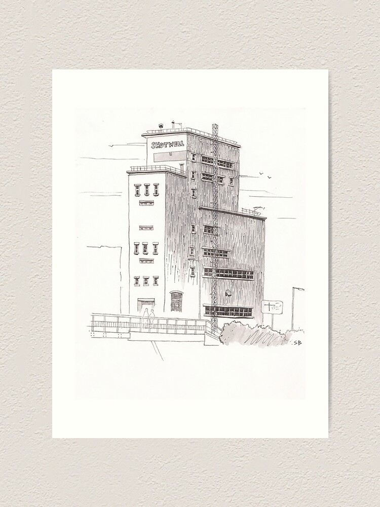 Alternate view of Shotwell Tower, Hull Art Print