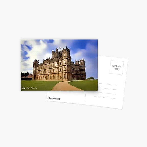 Downton Abbey Digital Art Postcard