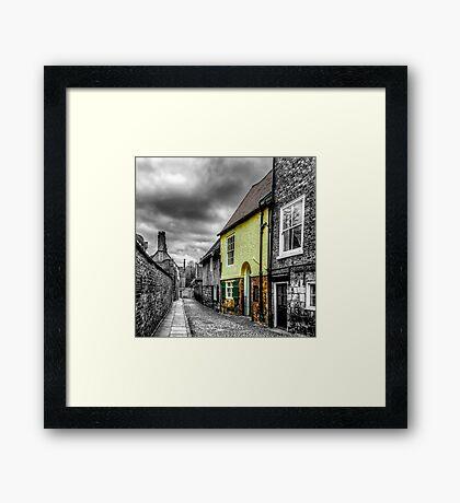 Mews Cottage York Framed Print