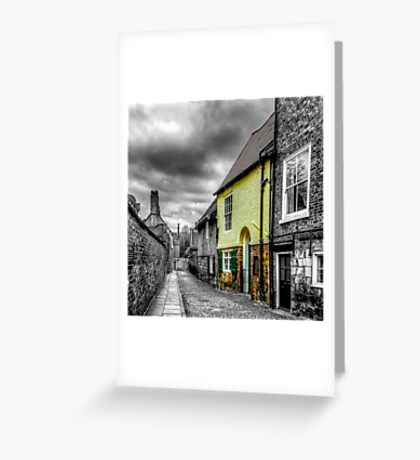 Mews Cottage York Greeting Card