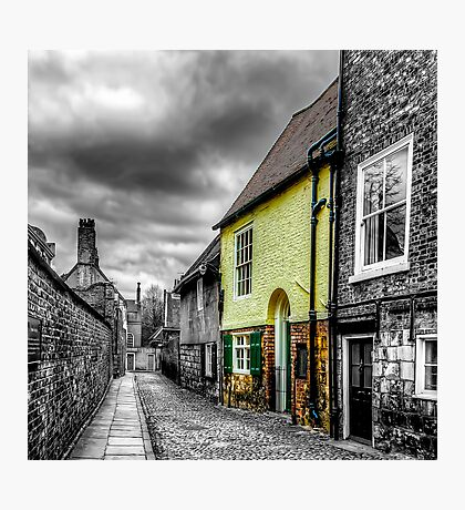 Mews Cottage York Photographic Print