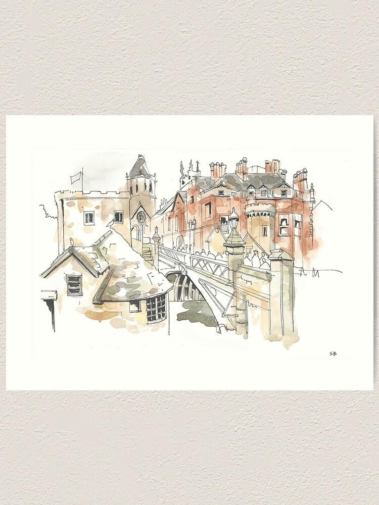 Alternate view of Lendal Bridge, York Art Print