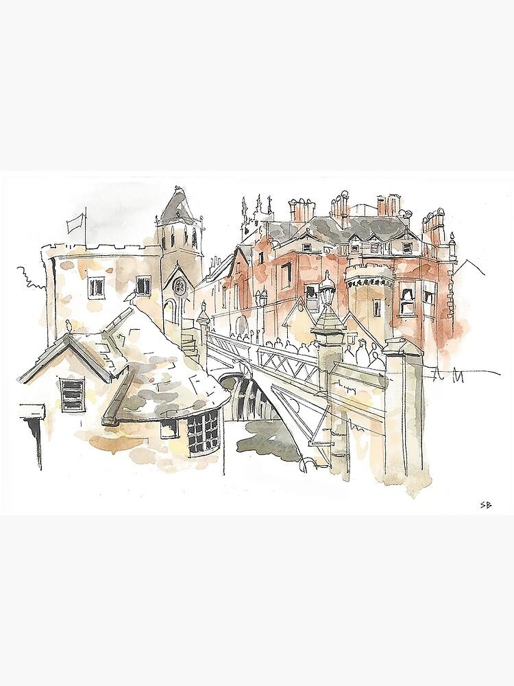 Lendal Bridge, York by stevebeadleart