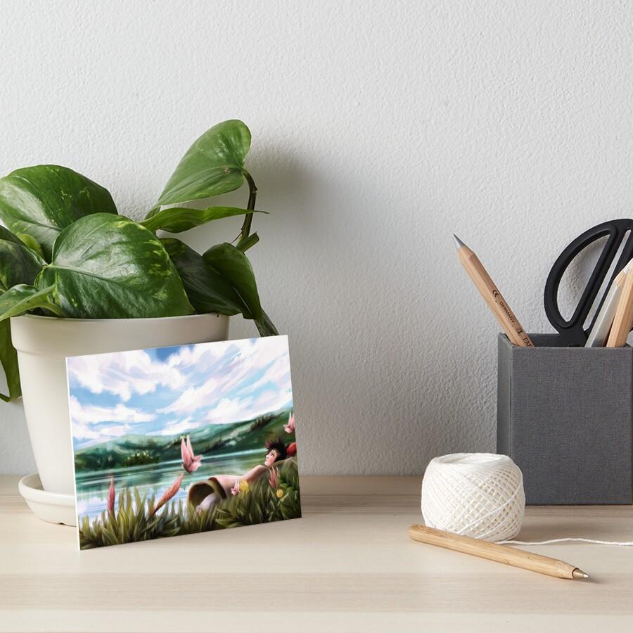 Cloud of Memories Art Board Print