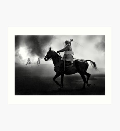 Cavalry Charge Art Print