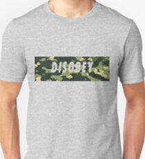 Camo Disobey T-Shirt