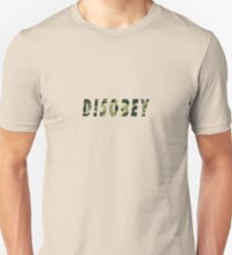 Camo Disobey Alternate Colorway Unisex T-Shirt