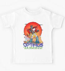 Optimus Prime Zombie Kids Tee