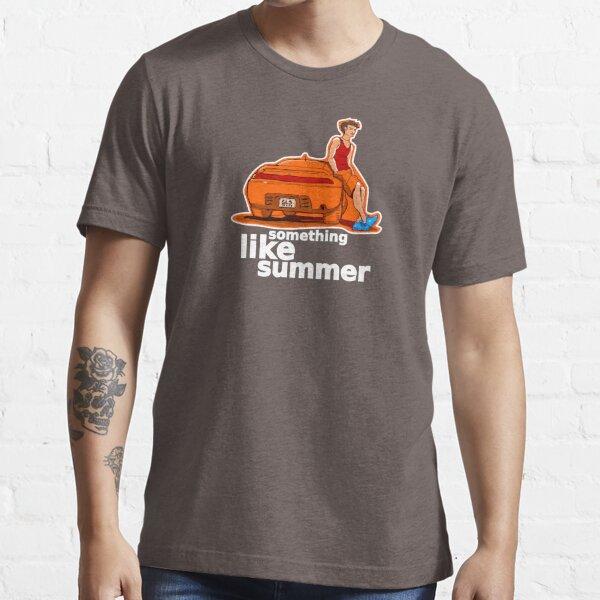 Something Like Summer - Dark colors / White text Essential T-Shirt