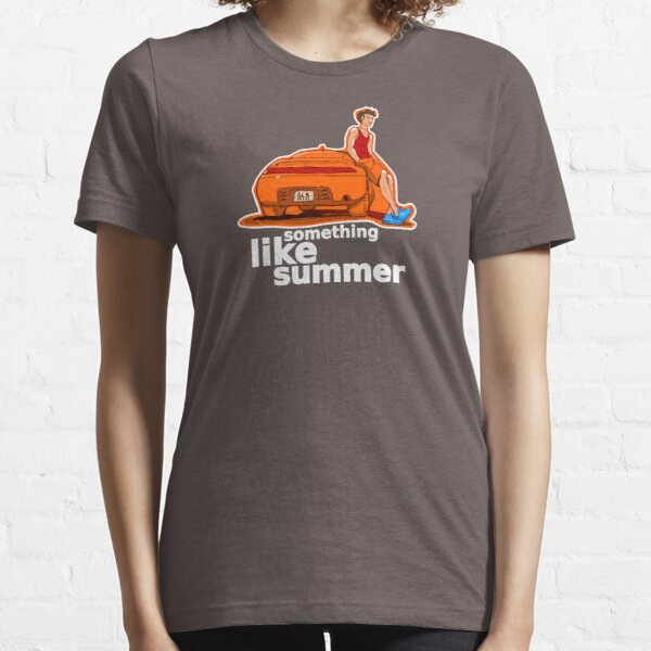 Something Like Summer - Dark colors / White text Essential T-Shirt