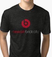 'Brick City BEATS' Tri-blend T-Shirt