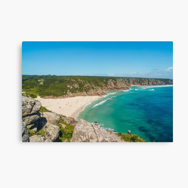 Porthcurno, Cornwall - 2020 Canvas Print