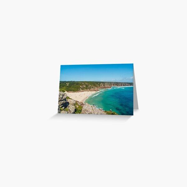 Porthcurno, Cornwall - 2020 Greeting Card