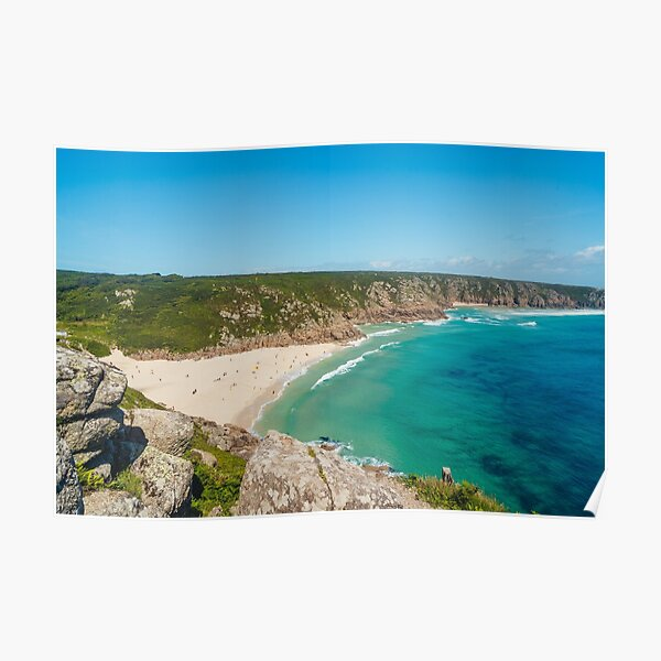 Porthcurno, Cornwall - 2020 Poster