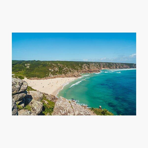 Porthcurno, Cornwall - 2020 Photographic Print