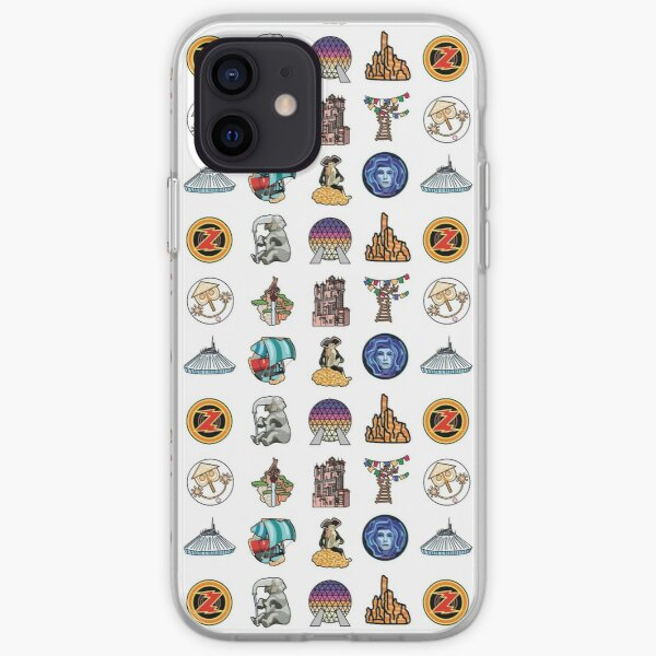 Ride Icon Pattern iPhone Soft Case