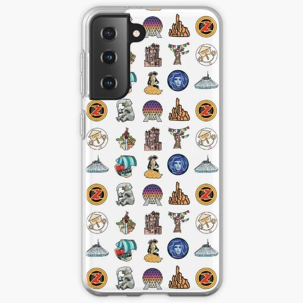 Ride Icon Pattern Samsung Galaxy Soft Case