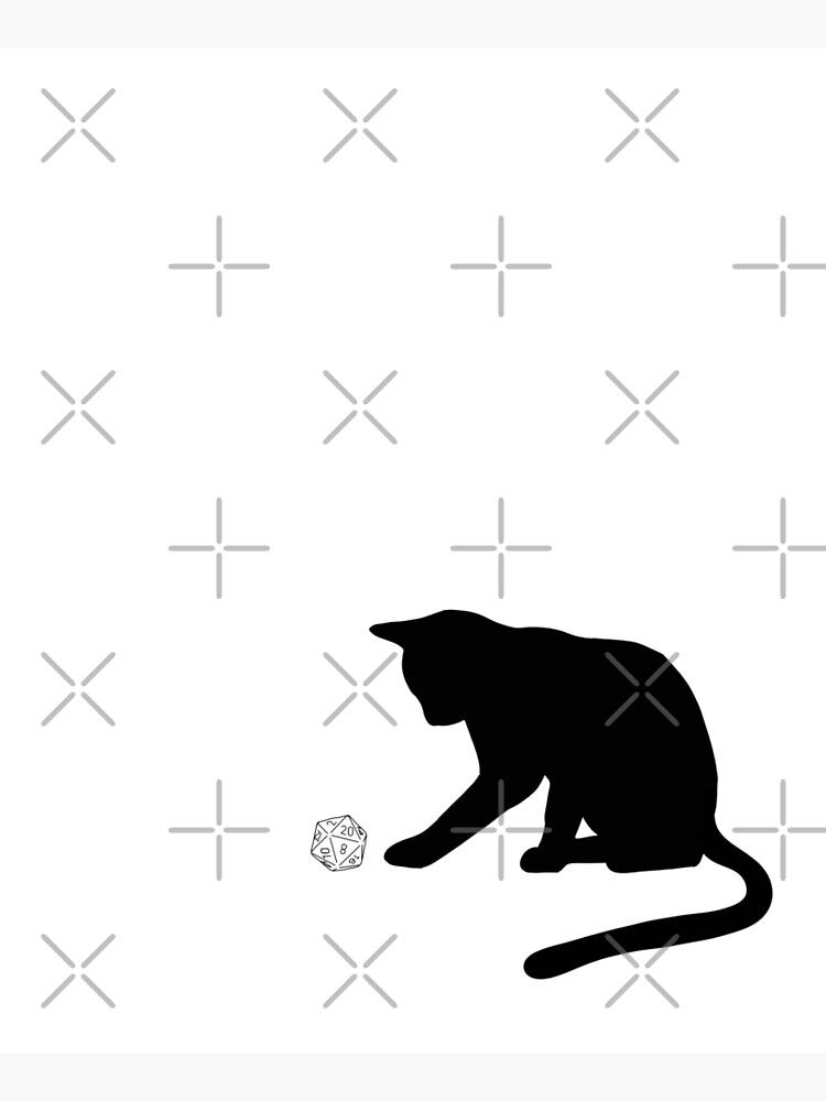 D20 Cat by firestargrey