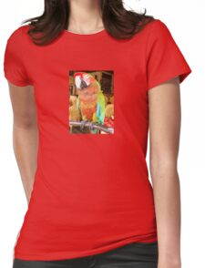 Harlequin Macaw On A Perch T-Shirt