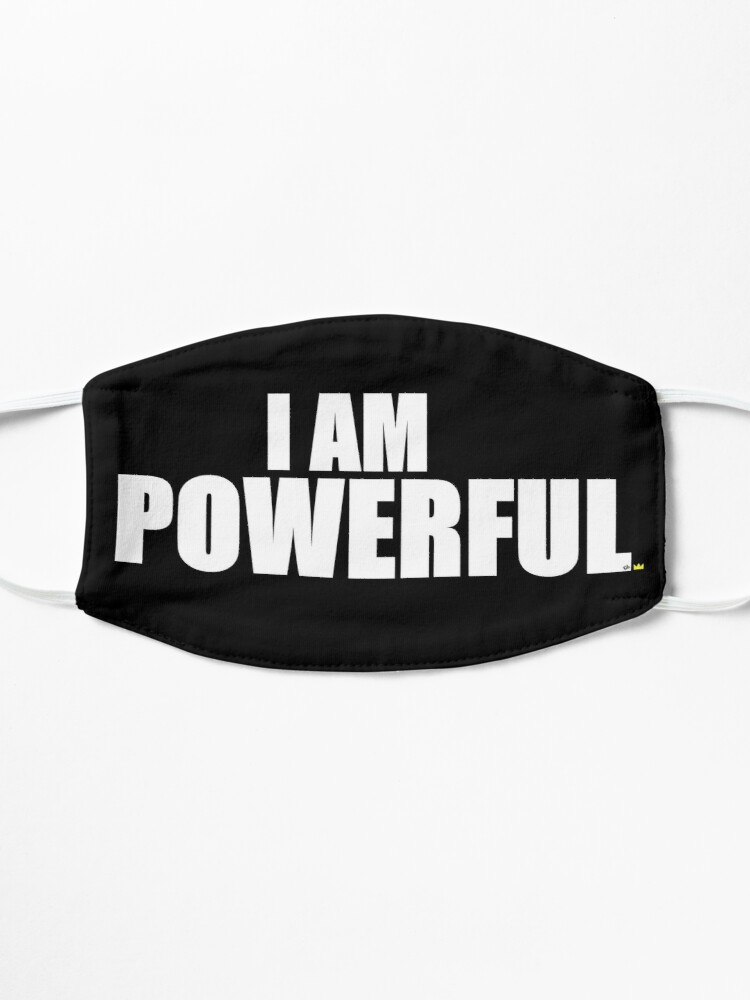 Alternate view of I AM POWERFUL Mask
