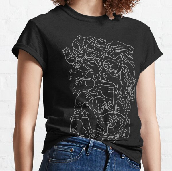 Black cats Classic T-Shirt