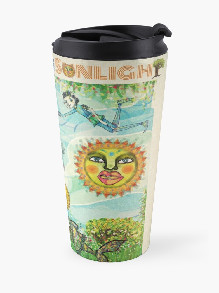 Alternate view of I see you in the Sunlight Travel Mug