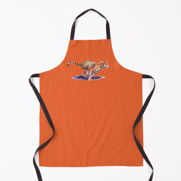 The Tiger - orange version Apron