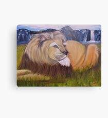 He is Big Proud and Beautiful Canvas Print