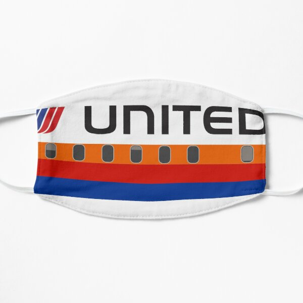 Plane Tees - United Airlines (Saul Bass) Mask