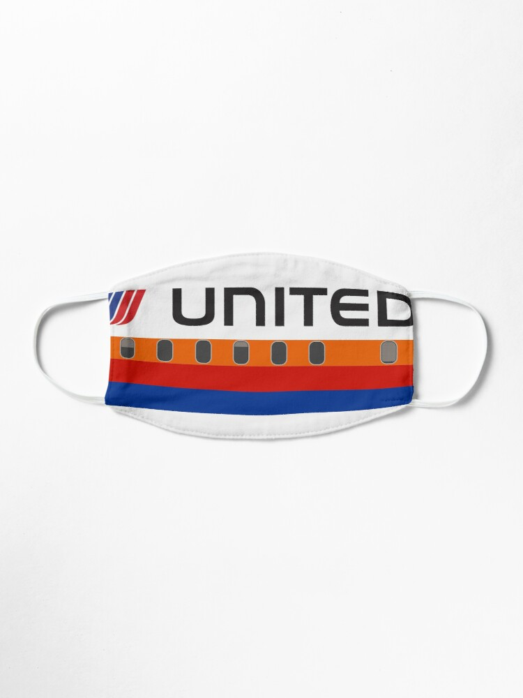 Alternate view of Plane Tees - United Airlines (Saul Bass) Mask