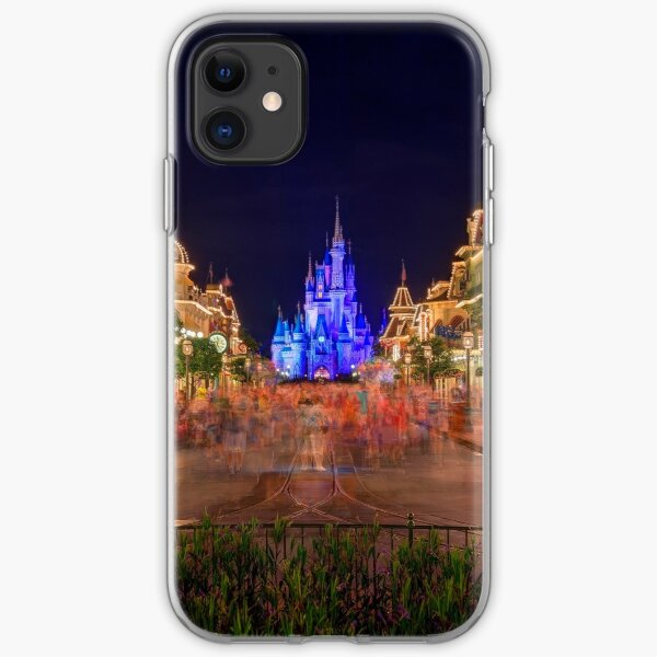Nighttime On Main Street USA iPhone Soft Case