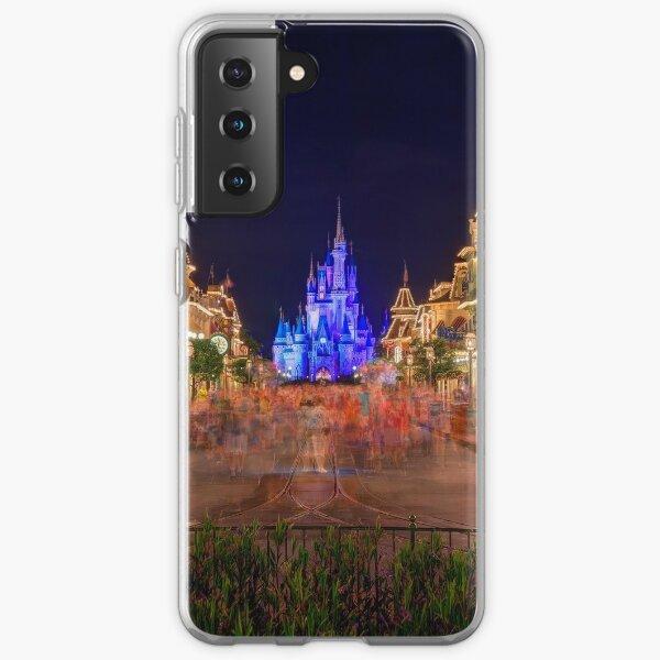 Nighttime On Main Street USA Samsung Galaxy Soft Case