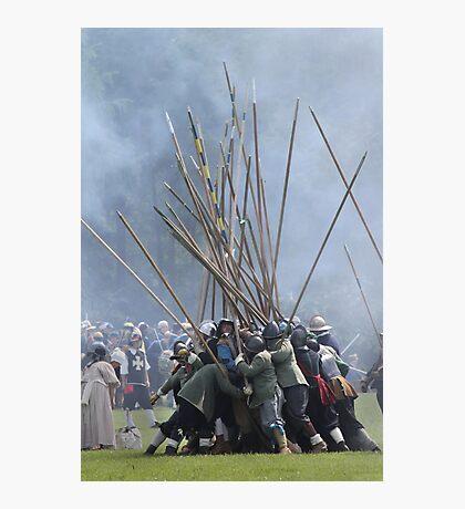 Pike Scrum - Civil War Re-enactment Photographic Print