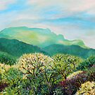 'SUMMER ON GRANDFATHER MOUNTAIN'  by Jerry Kirk